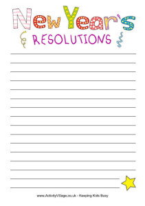 What are your New Year's resolutions for your home?